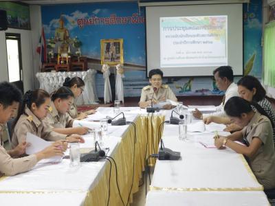 ประชุมคณะกรรมการตรวจนับนักเรียนระดับสถานศึกษา